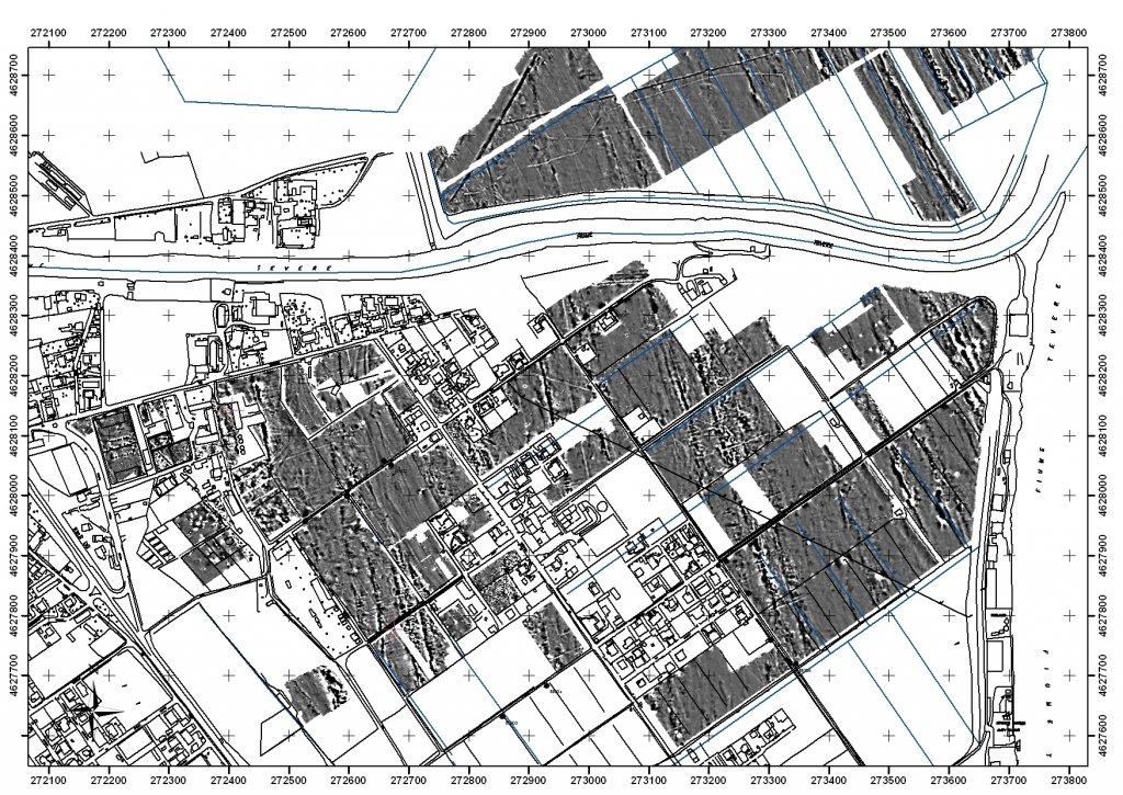 Plan of Isola Sacra